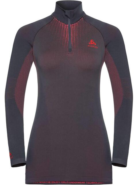Odlo Suw Performance Naiset alusvaatteet , harmaa/vaaleanpunainen